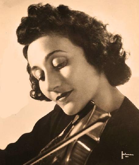 Erica Morini With The Los Angeles Philharmonic Play Glazounov – 1954 – Past Daily Weekend Gramophone