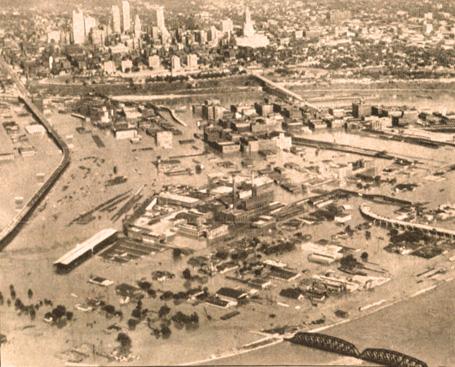 Kansas City Under Water – July 17, 1951