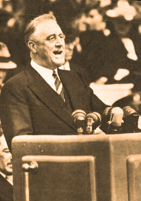 FDR Gives A Fireside Chat About The State Of The Nation In 1938