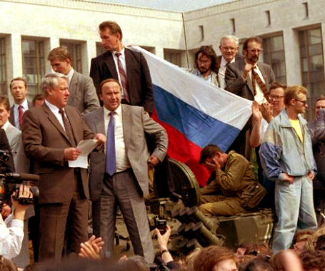 Coup In Moscow – August 21, 1991