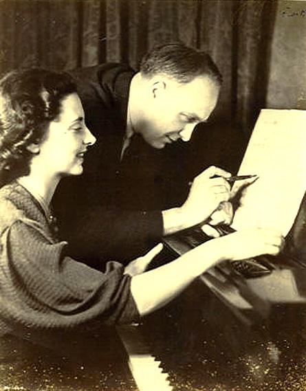 Gaby Casadesus And The Pascal Quartet Play Robert Casadesus – 1958 – Past Daily Weekend Gramophone.