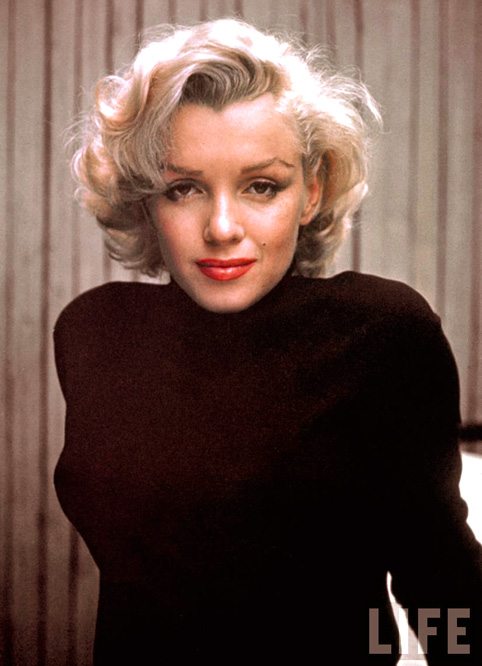 Marylin Monroe - Photo credit: Alfred Eisenstadt - Life Magazine