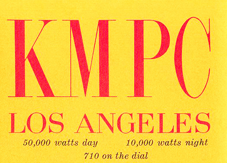 Personality Radio – KMPC, Los Angeles – 1968 – Past Daily Pop Chronicles