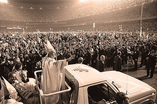 October 5, 1979 – The Pope Pays A Visit.