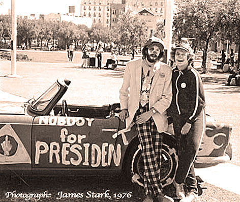 October 2, 1976 – Pressing Flesh, Backtracking And Earl Butz.