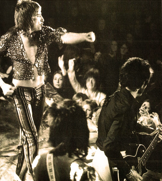 Rod Stewart and Faces In Concert - 1971