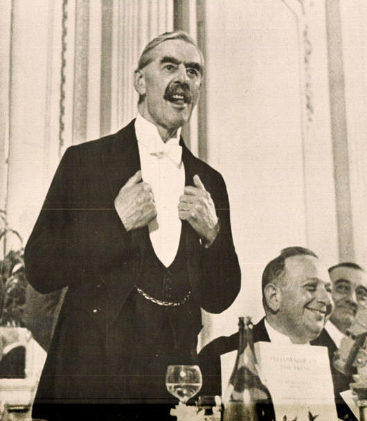 Neville Chamberlain Addresses The Foreign Press Association – December 13, 1938 – Past Daily Reference Room.
