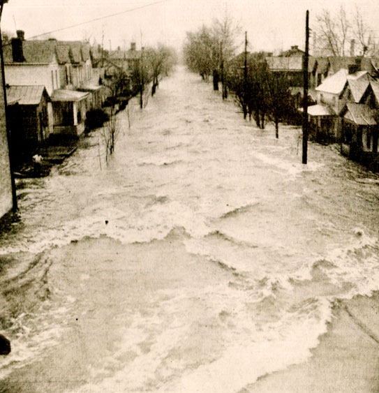 Floodwaters Rising – January 23, 1937