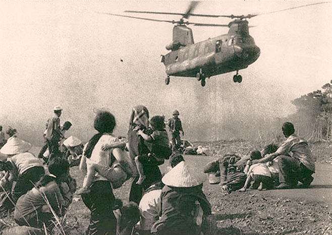 April 21, 1975 – Imminent Implosion In South Vietnam – Thieu Resigns –  Saigon Surrounded