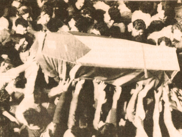 Funeral In Beirut – April 12, 1973