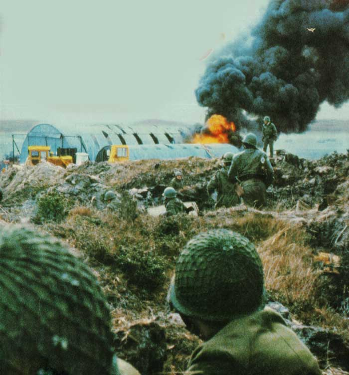 Heating Up The Falklands – May 21, 1982