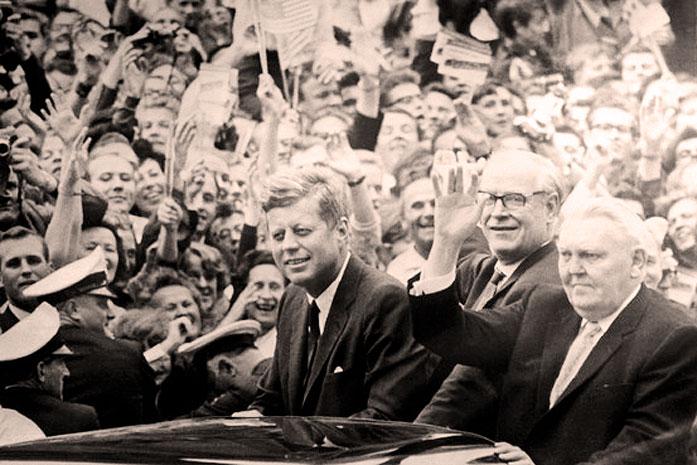 JFK In Frankfurt – June 25, 1963