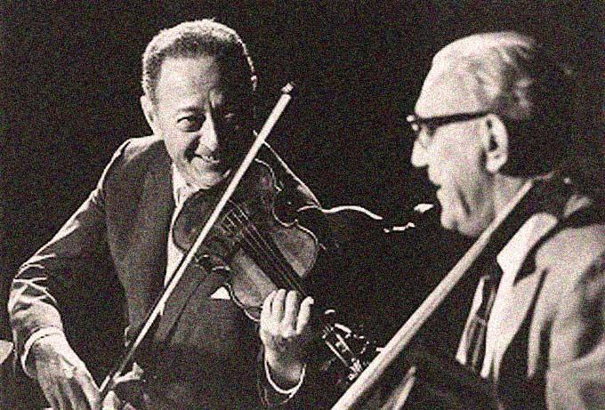 Jascha Heifetz – Gregor Piatigorsky – Leonard Bernstein – Live At The Hollywood Bowl – 1963 – Past Daily Mid-Week Concert