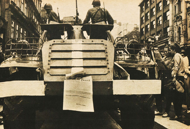 The Ominous Rumble Of Tanks – The End Of Prague Spring – August 20, 1968