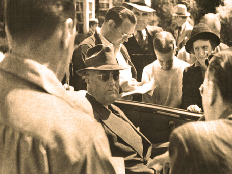 FDR Signs Social Security – August 14, 1935