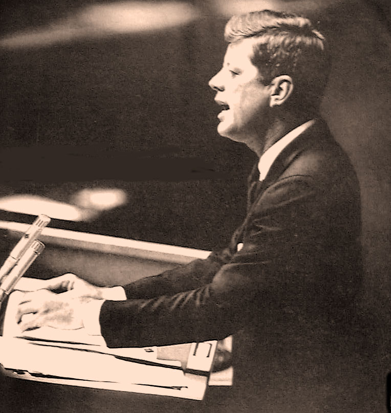 President Kennedy At The UN – September 25, 1961