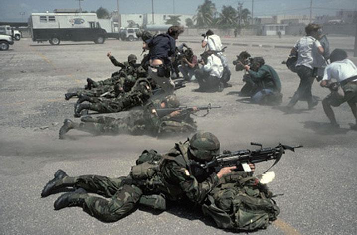 A Photo-Op In Haiti – September 20, 1994