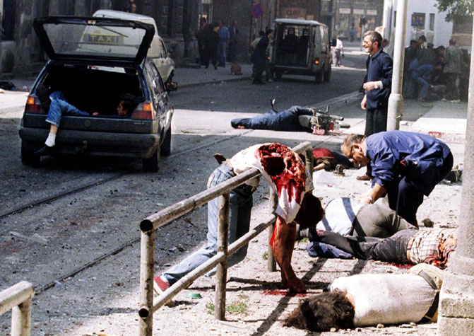Hell Rendered: Designated Bosnia – September 5, 1995