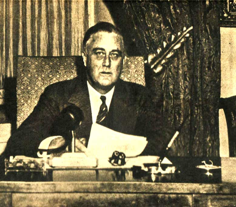 October 22, 1934 – President Roosevelt: Mobilization For Human Needs – Years Of Crisis