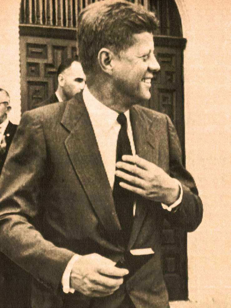 JFK Announces Candidacy For President – 1960 – Past Daily Reference Room
