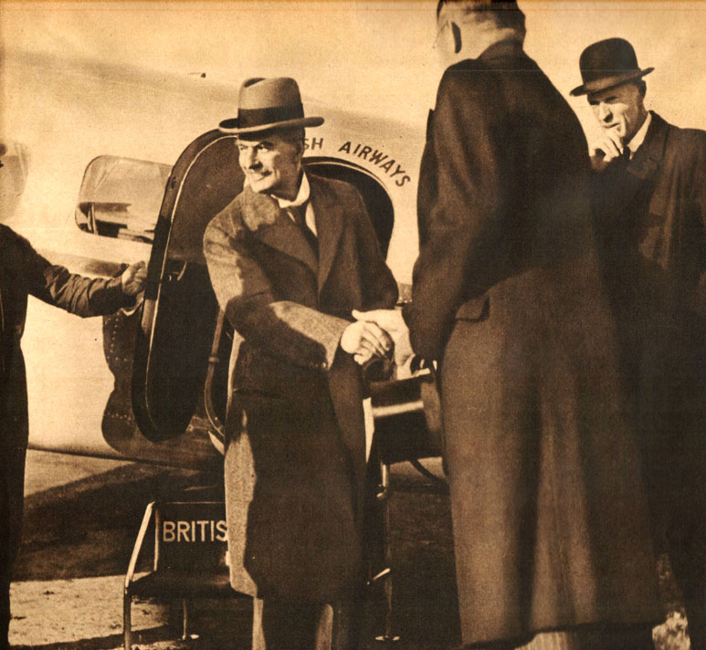 November 9, 1938 – Neville Chamberlain And The Munich Crisis – Staving Off The Inevitable