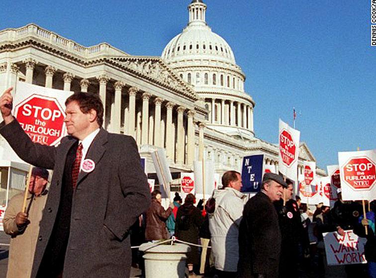 December 18, 1995 – Tantrum Redux: Another Government Shutdown