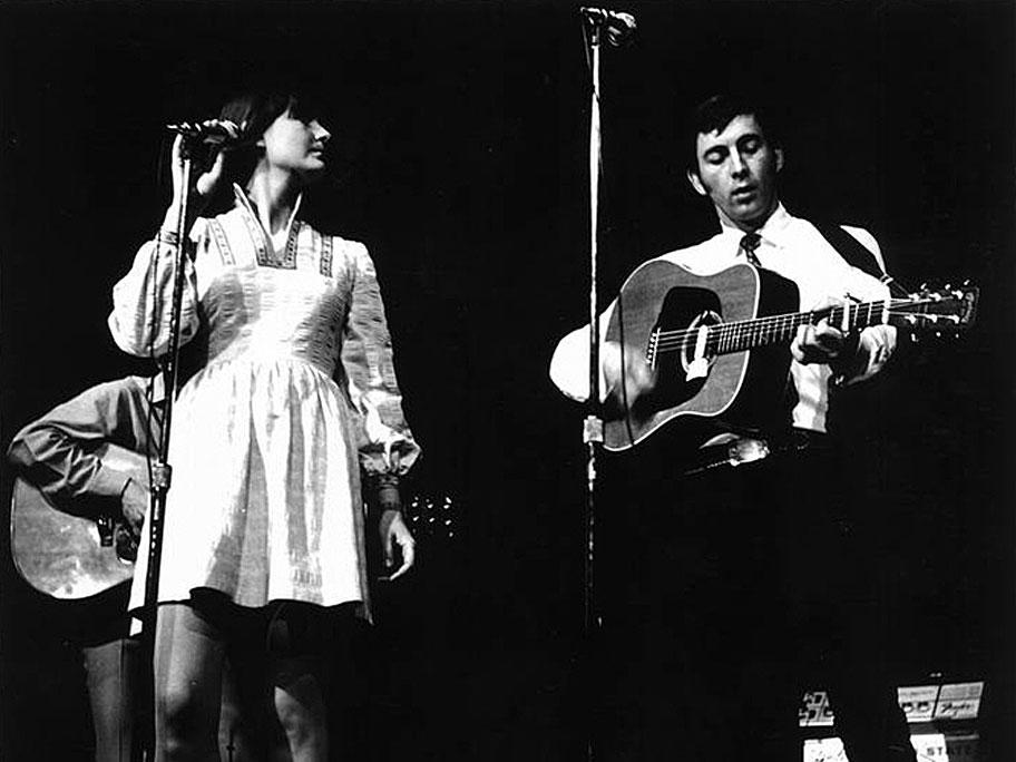 Josh White, Brothers Four, Ian & Sylvia, Judy Collins, Bud & Travis – Folk Night 1965 – Hollywood Bowl – Past Daily Backstage Weekend