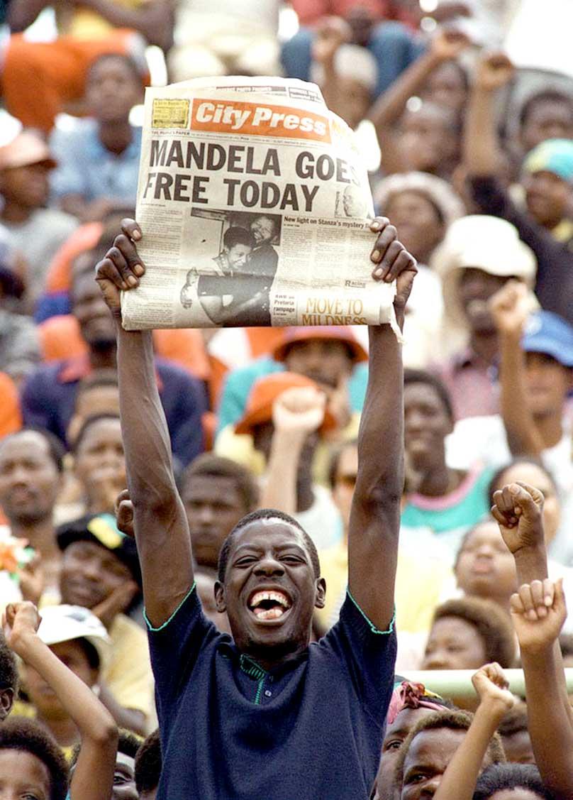 February 11, 1990 – Day Of Release – Nelson Mandela  Freed –