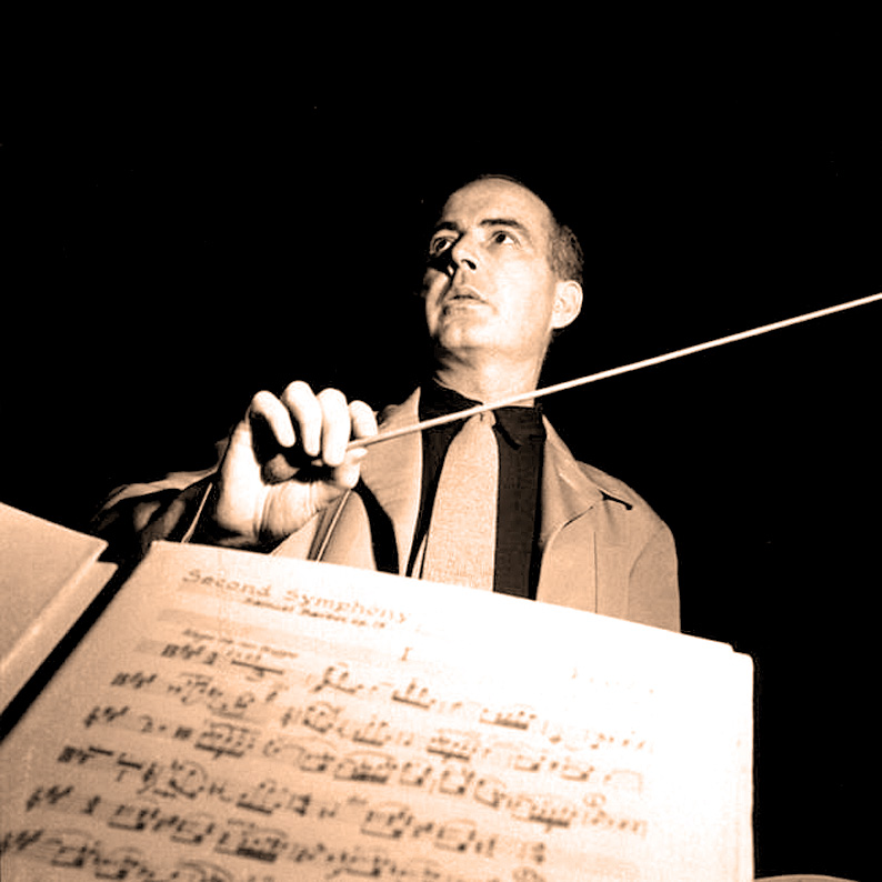 Samuel Barber In Rehearsal With The Boston Symphony – 1951 – Past Daily Weekend Gramophone
