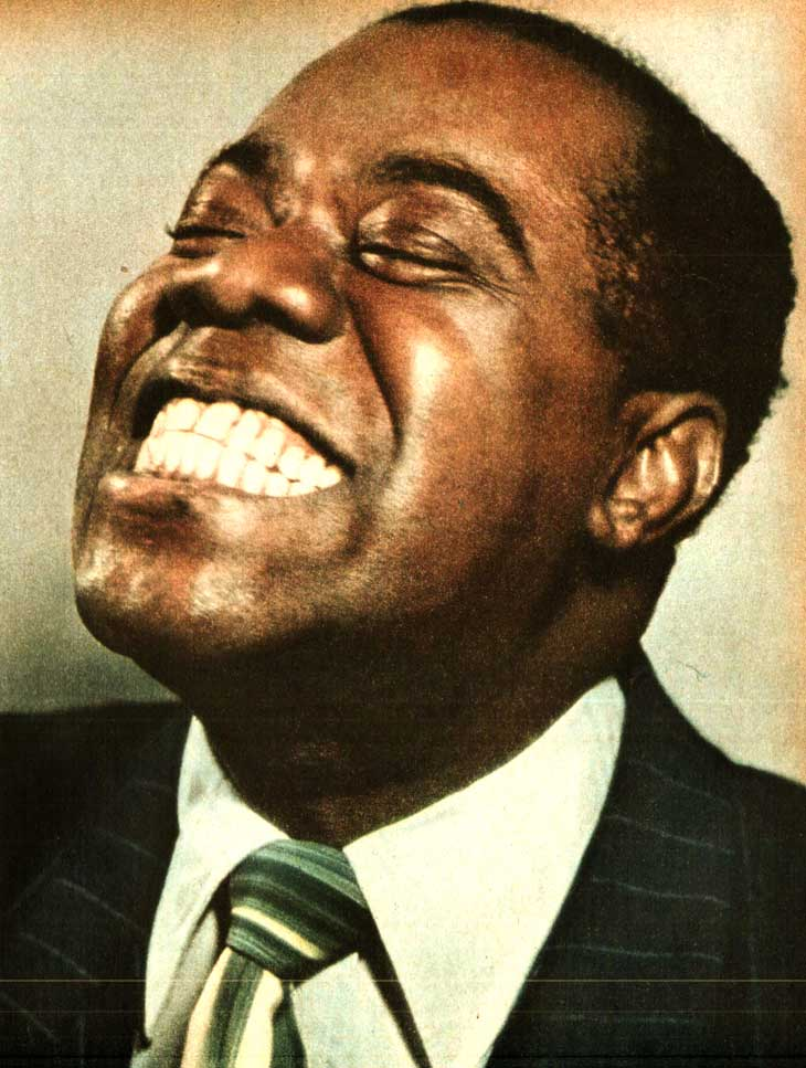 Louis Armstrong – Live At Basin Street, New York – 1955 – Past Daily Downbeat
