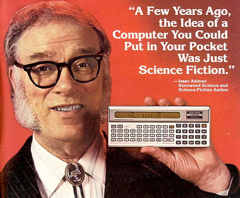 Isaac Asimov Has A Word Or Two About Computers In 1974 – Past Daily Reference Room