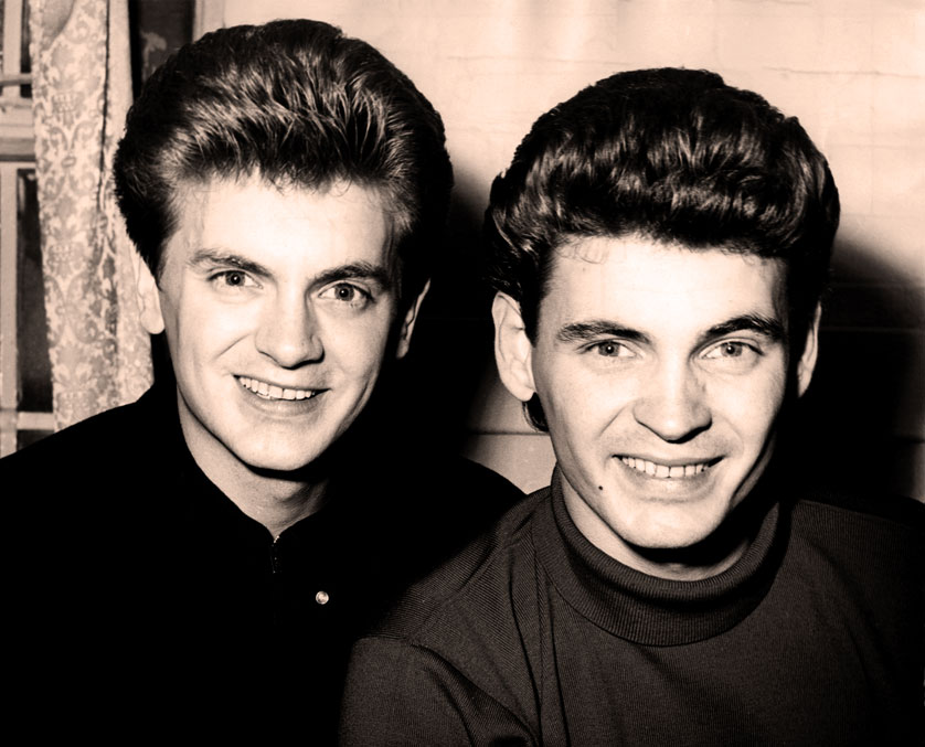 The Everly Brothers – Live – 1958 – (RIP Phil Everly – 1939-2014) – Past Daily Pop Chronicles: Tribute Edition