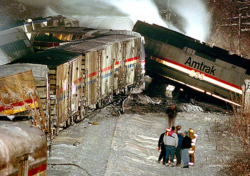 February 17, 1996 – A Collision Of Ideologies – A Collision Of Trains – A $19 Million Settlement