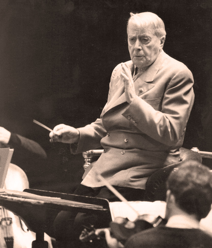 Charles Munch And Alexander Tcherepnin With The Boston Symphony In Rehearsal – 1951 – Past Daily Weekend Gallimaufry