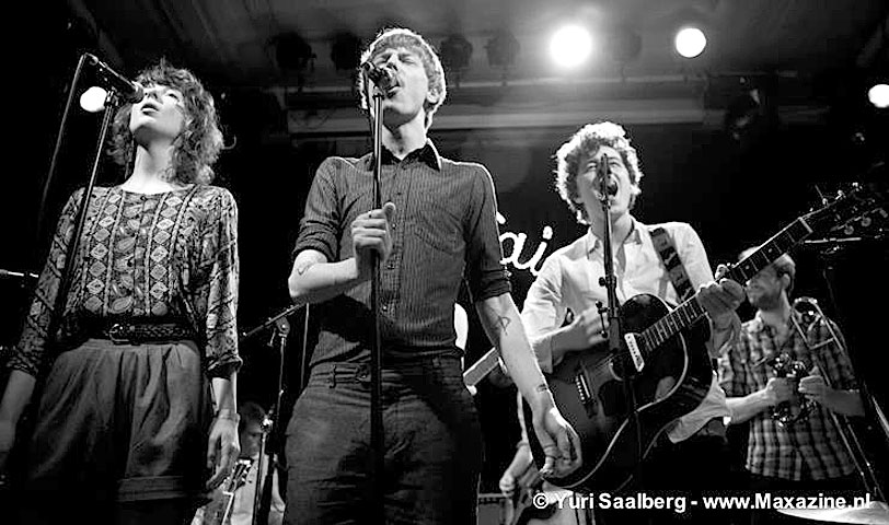 Wooden Saints – Live At Noorderslag 2014 – Nights At The Roundtable: Rock Without Borders/Mini-Concert Edition