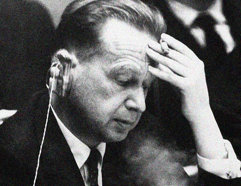 Dag Hammerskjold Has A Few Words About The People's Part In Peace – February 4, 1958