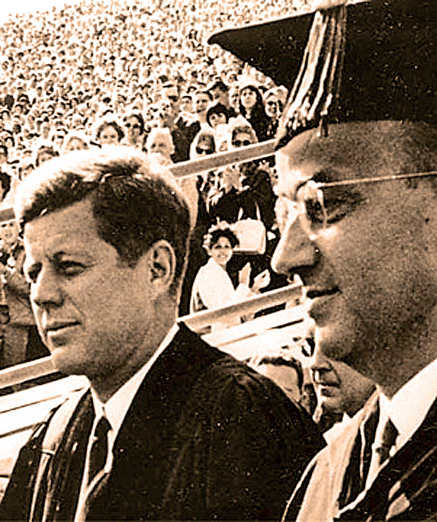 JFK At Berkeley – 1962 – Past Daily Reference Room