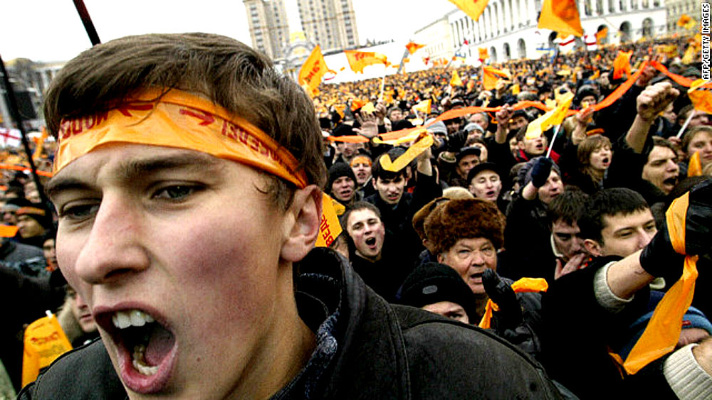When The Revolution Was Orange – Ukraine In 2004 – Past Daily Reference Room