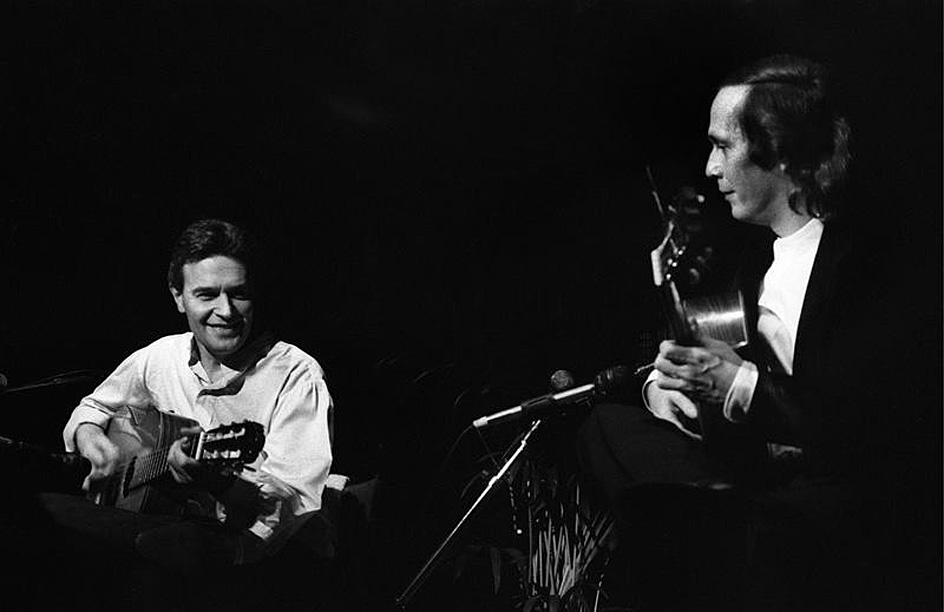 John McLaughlin And Paco De Lucia – Live In East Berlin – 1987 – Past Daily Downbeat: Tribute Edition (RIP: Paco de Lucia – 1947-2014)