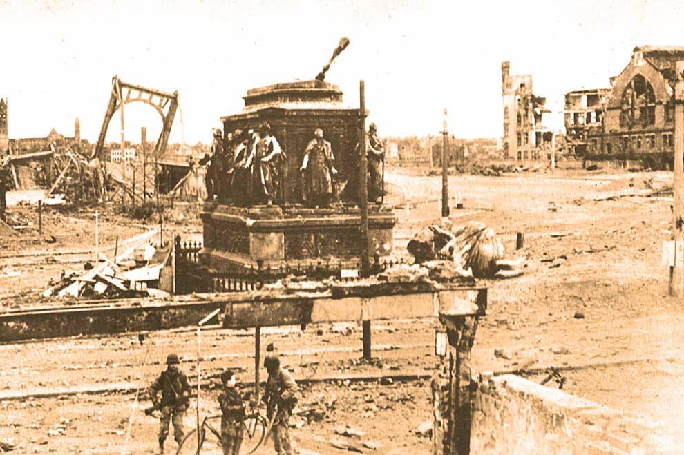April 30, 1945 – Rumors Of Peace, Reality Of Rubble