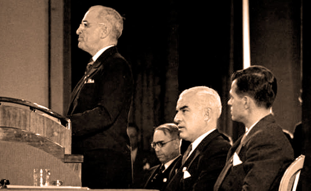Opening Of San Francisco Conference – April 25, 1945 – Past Daily Reference Room