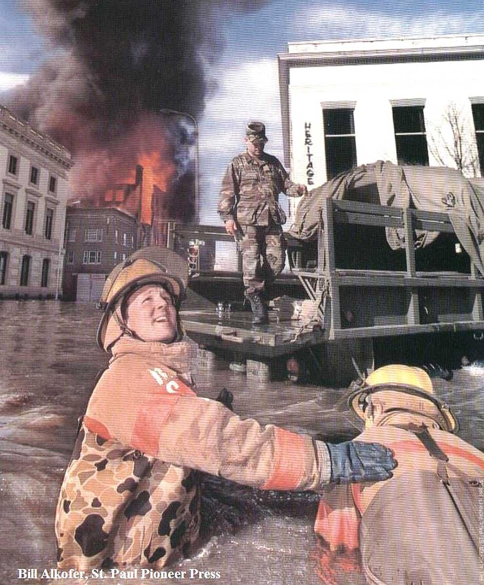 Flood Of The Century – April 18, 1997