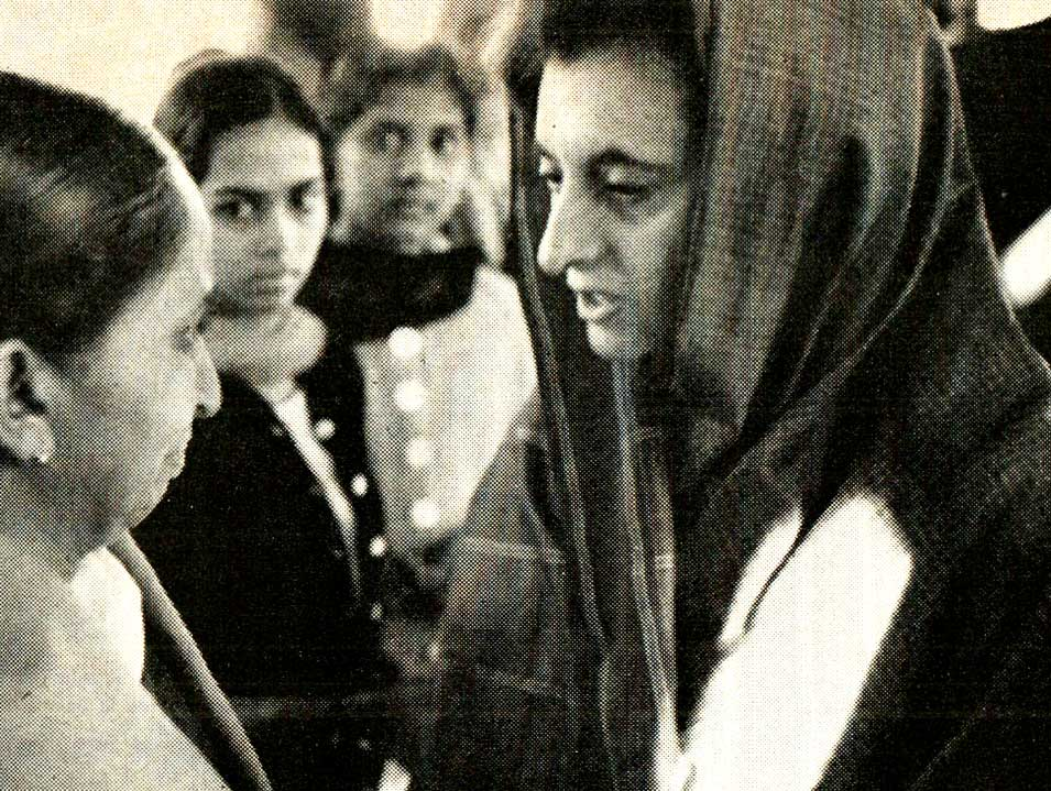 A Word Or Two From Indira Gandhi – 1964 -Past Daily Reference Room