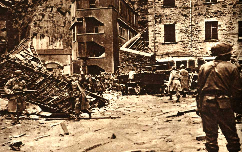 The Taking Of Cherbourg – June 25, 1944