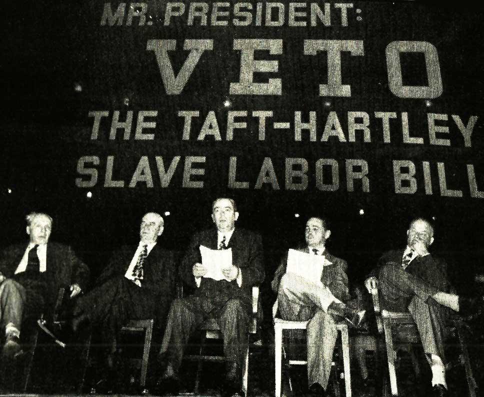 Taft-Hartley Vote