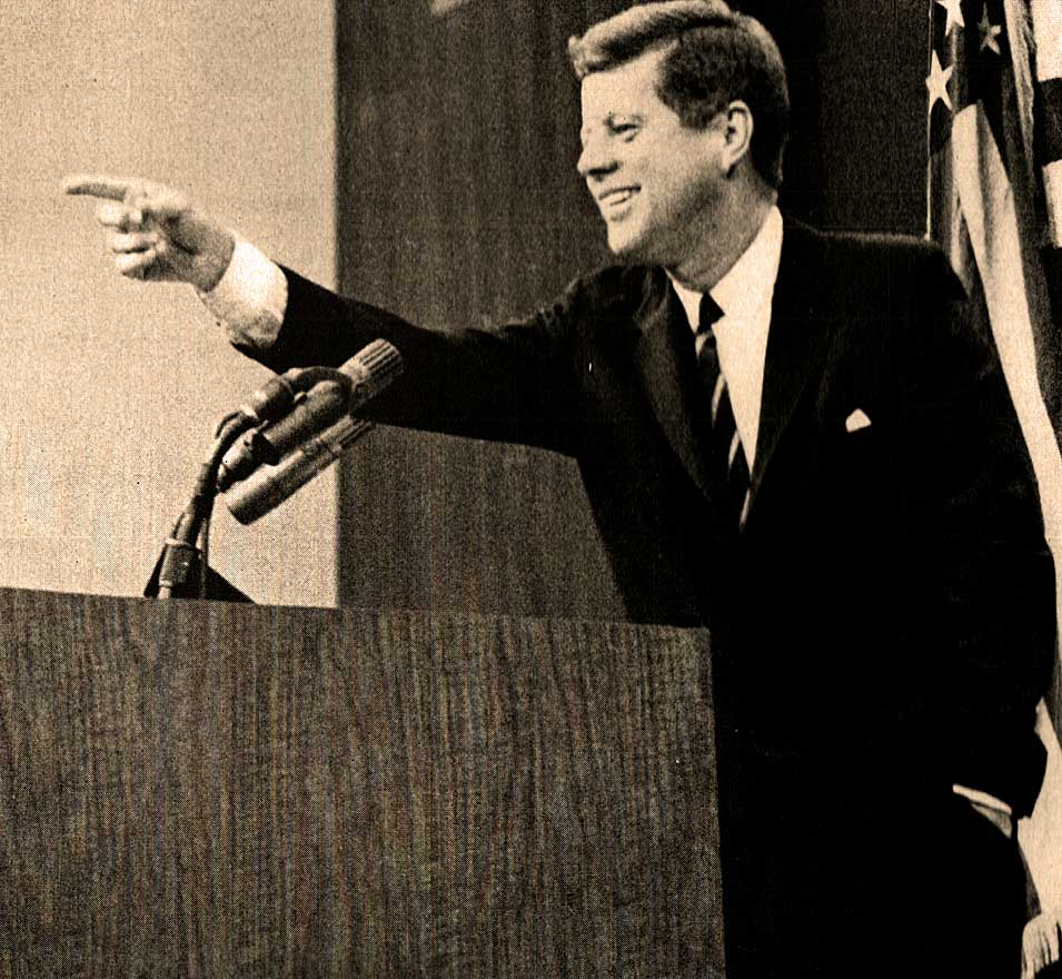 JFK Hosts An Impromptu News Conference – June 8, 1961 – Past Daily Reference Room