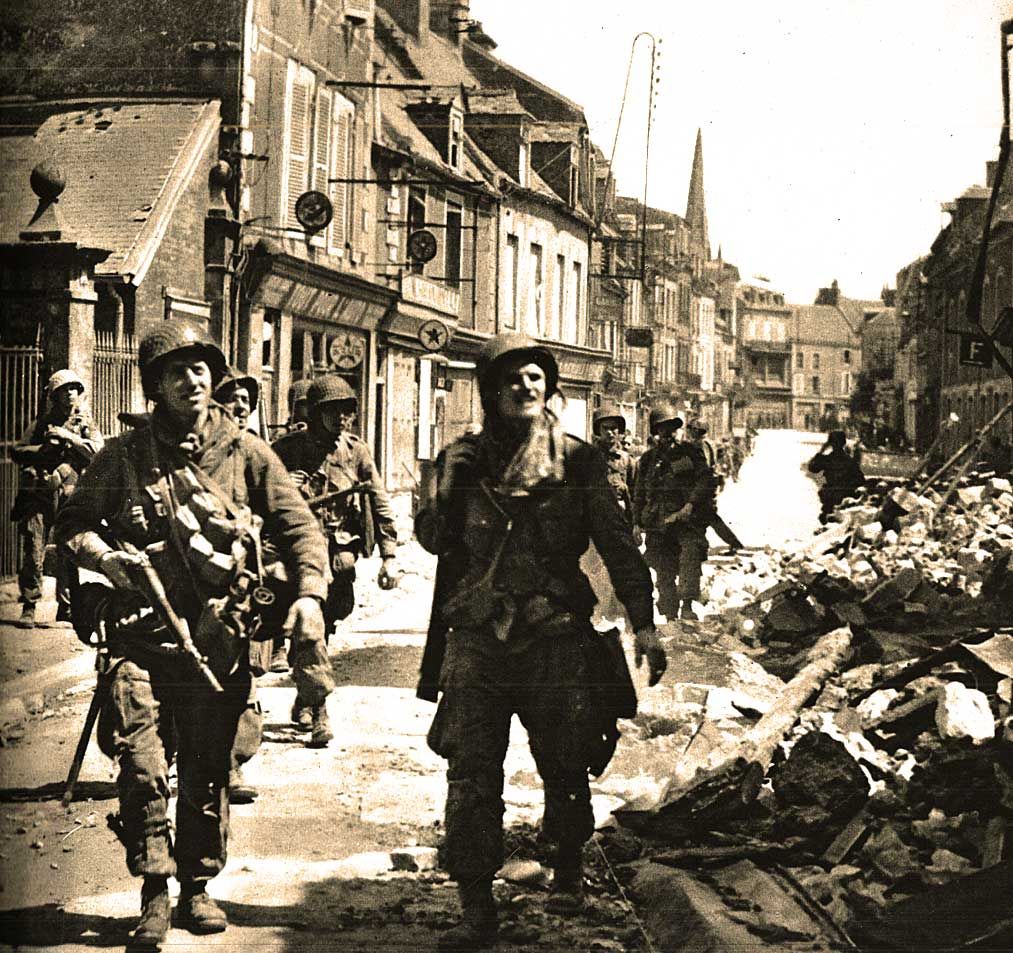 June 7, 1944 – D-Day Plus One – Foothold In France.