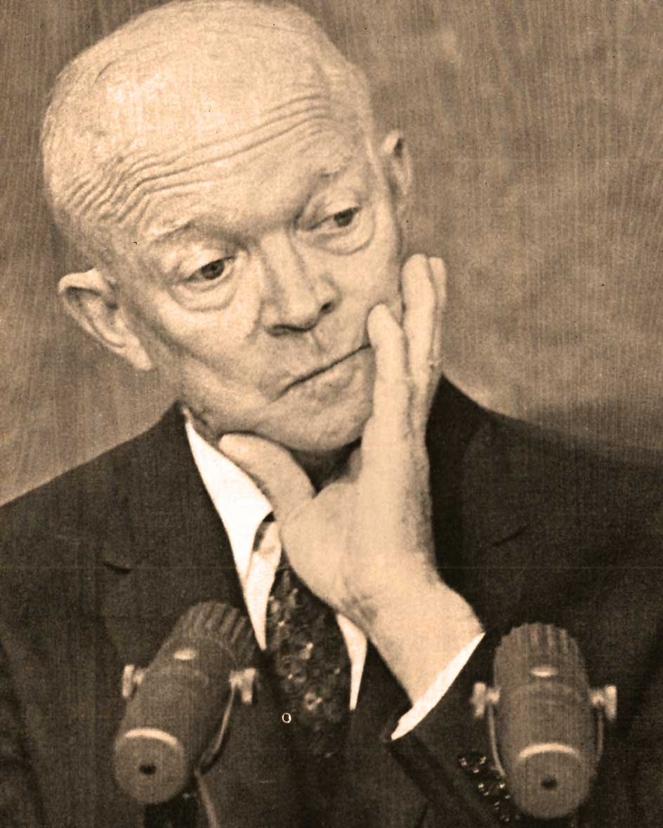 Ike Gives An Earful – Former President Eisenhower Press Conference/Republican Convention Preview – July 13, 1964 – Past Daily Reference Room