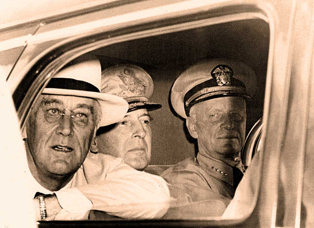 FDR Returns From The Pacific – August 12, 1944