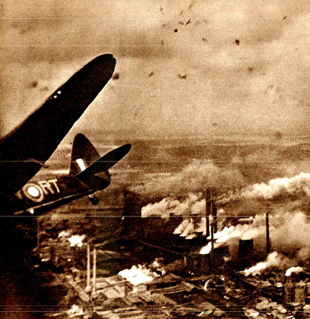 August 12, 1941 – Raids Over Germany – War In The Air – War On The Air –